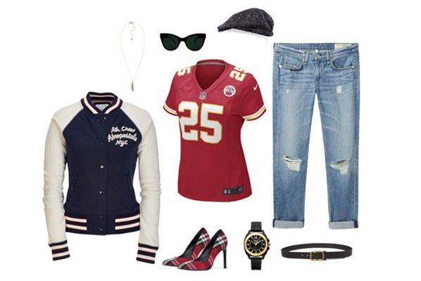 Kansas City Chiefs: Game Day Fashion - Girls Love the Game