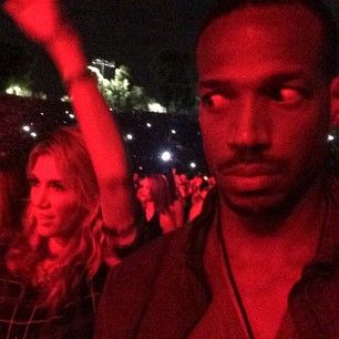 "Apparently, Marlon Wayans was so annoyed when his Beyoncé and Jay Z concert experience was accompanied by the ""most unrhythmic white woman"", he had to Instagram it. 