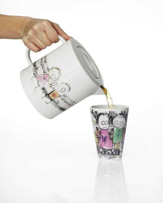 Thee/koffiepot Poul Pava  UtrechtDesign.nl