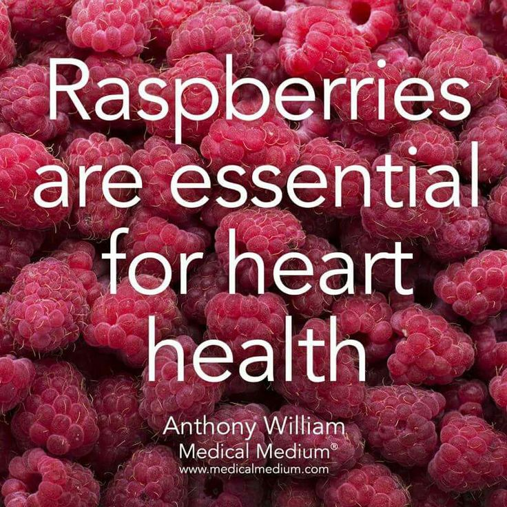 Rasberries are essential for heart health. They are low in fat and help reduce heart disease risk. #AmericanHeartMonth