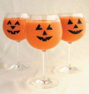 Pumpking mocktails / cocktails http://msfizz.sodastreamusa.com/2010/10/28/fizzy-frights-halloween-mocktails/