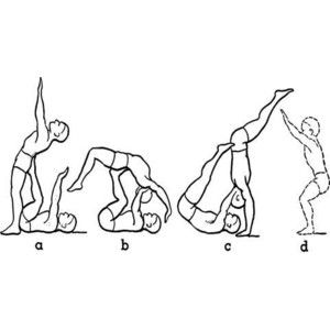 This would really help if you're trying to get your back handspring but also if a fun activity