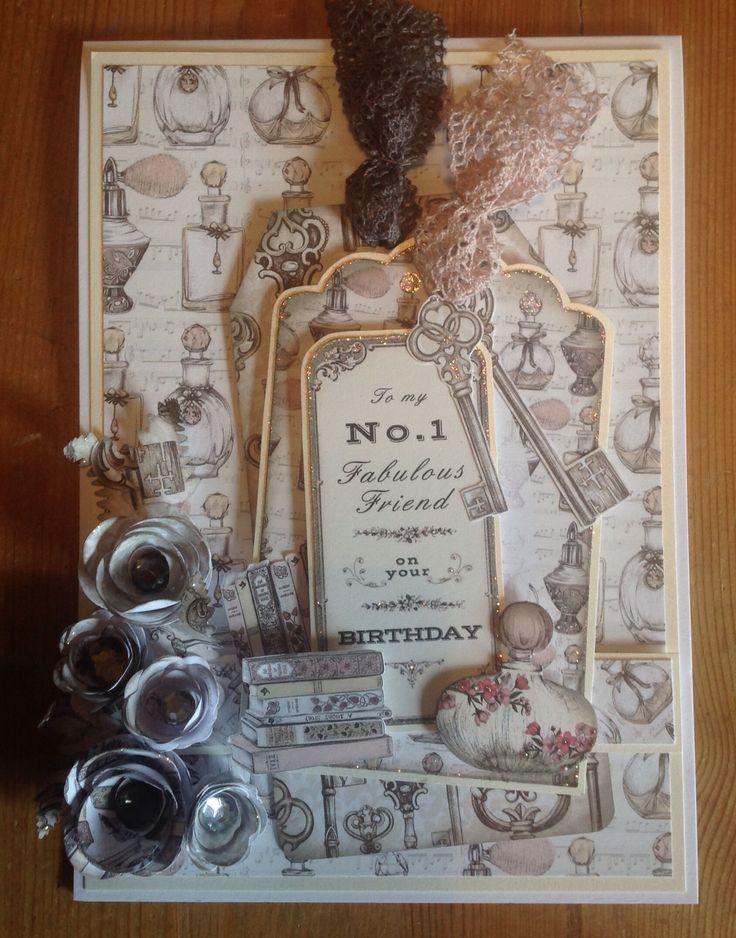 Vintage Ephemera collection card  designed by Emma Smith