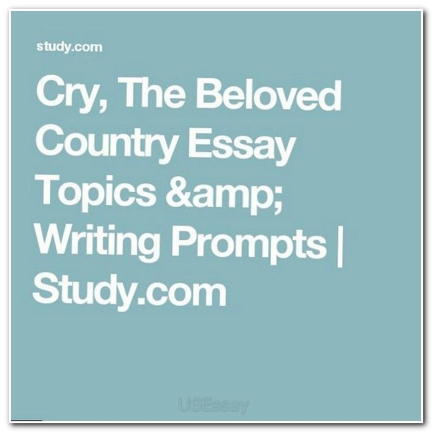 cry the beloved country critical essays Cry, the beloved country by alan paton (read by) in epub, fb2, fb3 download e-book.