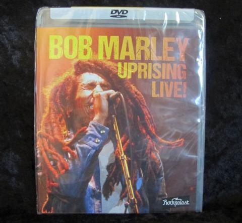 """Bob Marley, Uprising Live. The Uprising Tour ran in Europe from May to July 1980 with five further dates in the USA in September. It was Bob Marley's last tour before his tragically early death in May 1981 at the age of just 36. A few days after the release of the """"Uprising"""" album this live show from Dortmund's Westfalenhalle on June 13th was filmed for the famous German music TV series Rockpalast and is presented here on DVD for the first time with footage restored to the best possible…"""
