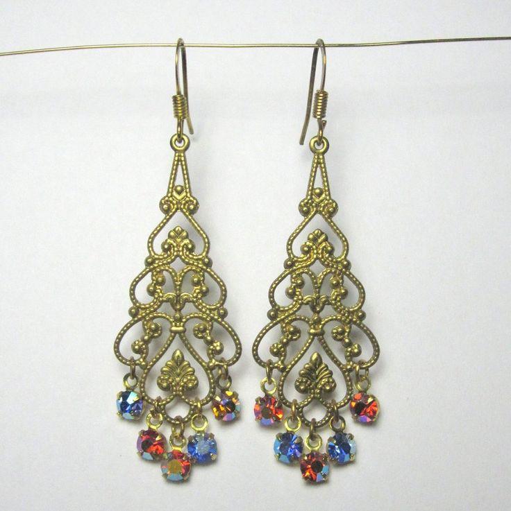 Chandeliers med små diamanter