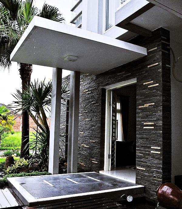 Teras model Rumah Minimalis
