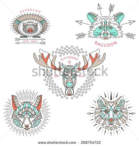 Wolf Logo Photos et images de stock | Shutterstock