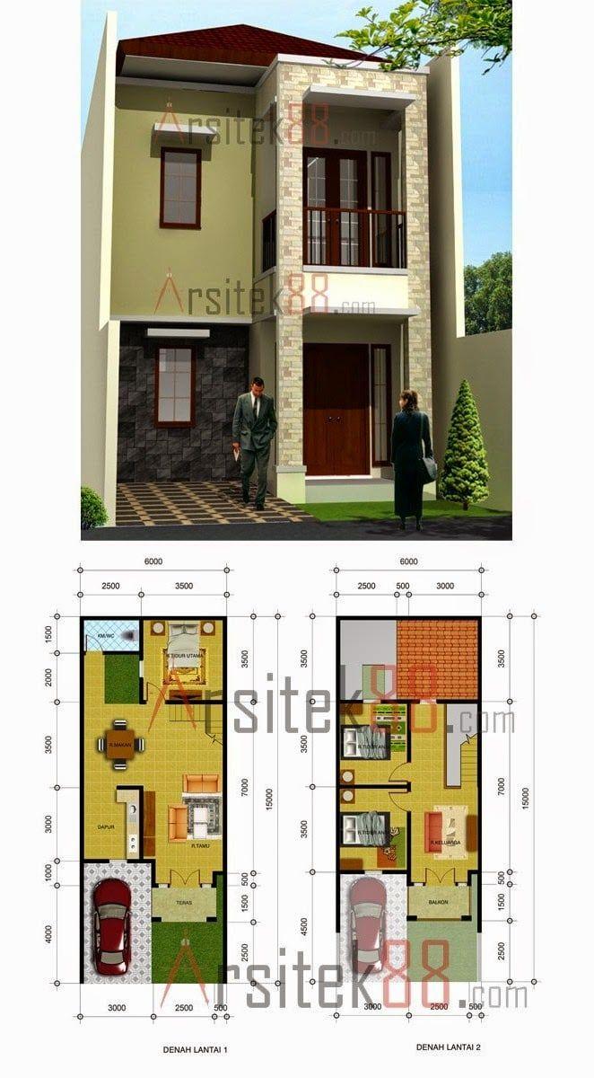 Desain Rumah 3x10 Rumah Minimalis Desain Rumah Minimalis Denah Rumah