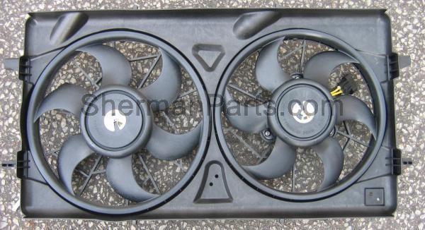 2005-2010 Chevy Cobalt Radiator Fan Assembly
