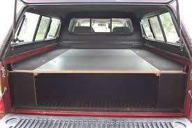 Resultado de imagen de buiding a sleeping platform for a pickup truck bed