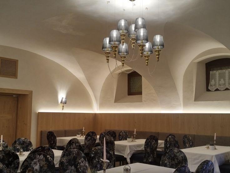 #förstlerhof #südtirol #meran #burgstall #projekt #projektbeleuchtung #italianstyle