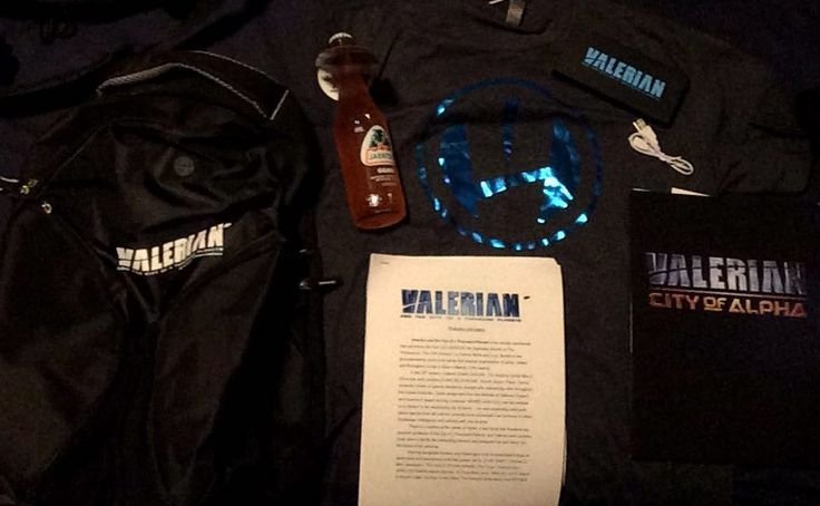 #Thisfunktional #Movie: #ValerianMovie #GoodieBag  #BackPack #PortableCharger #Shirtand a #Jarritos #Guava #Soda. Also got some #Information on the #ValerianCityOfAlpha #MobileGame. VALERIAN AND THE CITY OF A THOUSAND PLANETS opens in #Theaters July 21. #ThisfunktionalMovie #Movies #Action #Adventure #SciFi #ScienceFiction #Film #Films #Cine #Cinema #Cinemas #ValerianAndTheCityOfAThousandPlanets http://ift.tt/1MRTm4L