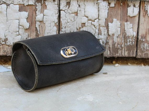 Small leather bag christmas present xmas gift by EATHINI on Etsy