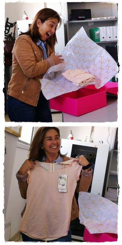 Pino está feliz al recibir su pedido sorpresa de soyunachicanormal.com