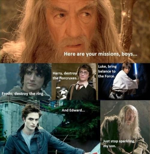 It's Cedric dear, it's Cedric