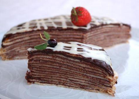 Palacinková torta - recept