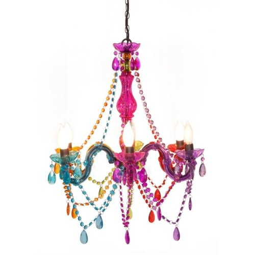 funky chandelier interior design