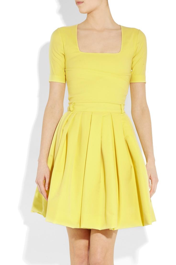 Preen-Flame Stretch-Crepe Dress