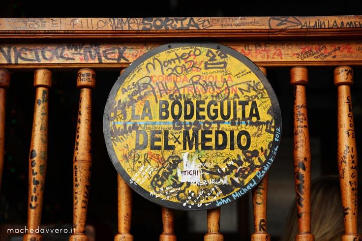 La Bodeguita del Medio, L'Avana, Cuba. Check my travel photopost!