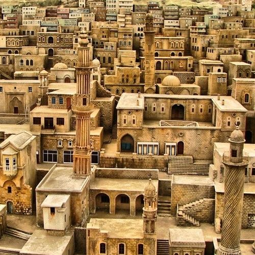 Amazing architecture / Mardin, Turkey