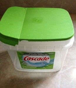 Recycle/Reuse: Containers from Cascade, Mentos and More