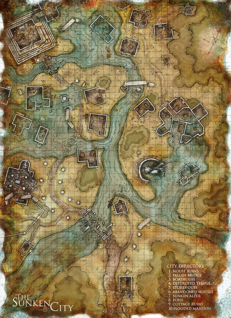 This is another map made for Dnd