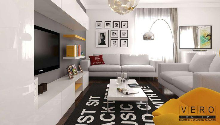 Modern ve ferah iç mekan tasarımlarında Vero Concept Mimarlık imzası... #veroconceptmimarlık #VeroConceptArchitects #içmimar #içmimari #içmimarlık #içmekan #içtasarım #içdizayn #içdekorasyon #interiordesign #interior #homedesign #evdekorasyon #livingroom #StatuPlusİnşaat #homify