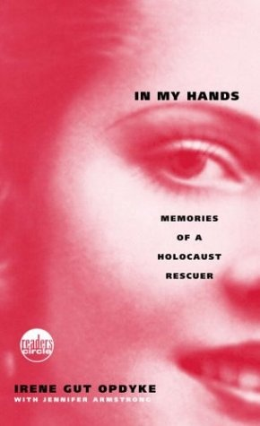 In My Hands- amazing book, you will be in tears. A girl and her younger sister are taken to a concentration camp and use extraordinary means to survive. One you can't put down.
