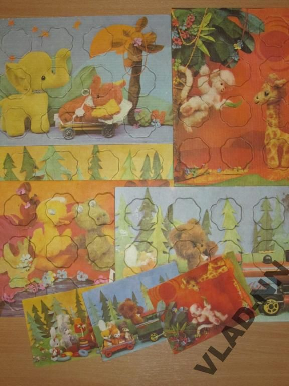 Твои друзья-игрушки (автор Анна Назаренко), 1980, Веселка. Настольные игры СССР - http://samoe-vazhnoe.blogspot.ru/