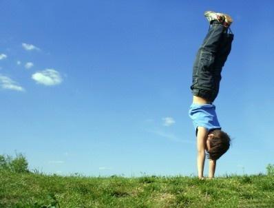 E is for exercise! [activity]Body, Handstand Pushup, Kids Yoga Poses, Yoga Posture, Exercise, Activities, Blog, Yoga Kids, Children Yoga