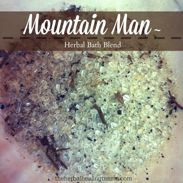 Bath Salts for the earthy man