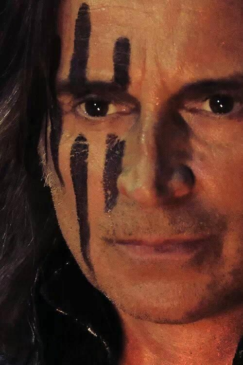 "Robert Carlyle as Rumplestiltskin from the TV Show ""Once Upon A Time"".  He reminds me so much of my brother who has passed, I think of him everytime I see him."