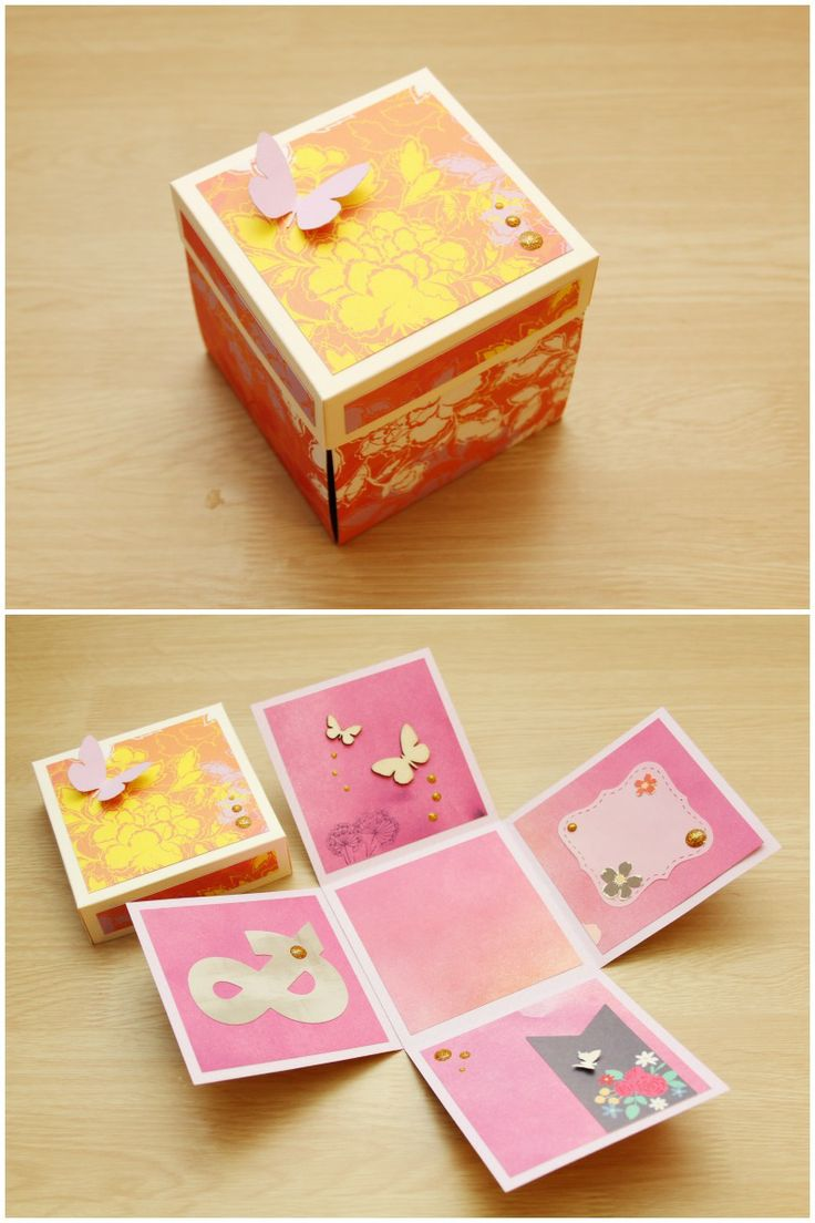 Exploding box - spring - by alsine design 2014
