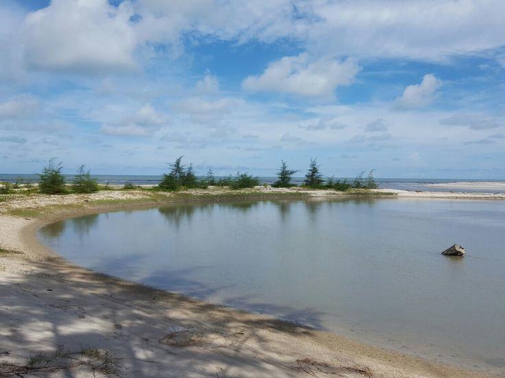 Laguna  Pantai Serdang, Belitung Timur