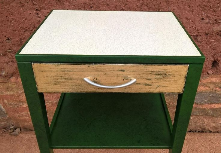 169....Pair Of Retro Bedside Tables or Lamp Tables