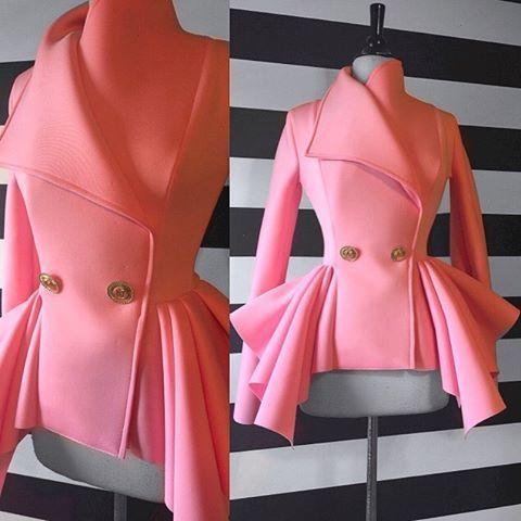 Nicci Hou Collection Lady Peplum Jacket #niccihou #niccihoucollection