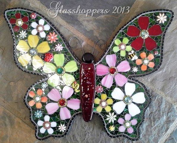 Flowerbug butterfly by Glasshoppers