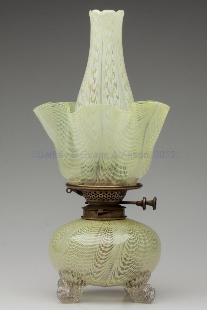 Lot:1296: HULSEBUS II, FIG. 579 / NAILSEA LAMP, Lot Number:1296, Starting Bid:$150, Auctioneer:Jeffrey S. Evans & Associates, Auction:1296: HULSEBUS II, FIG. 579 / NAILSEA LAMP, Date:04:30 AM PT - Oct 20th, 2012