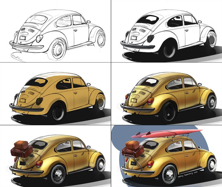 VW Beetle process in 2020 Vw beetles, Beetle