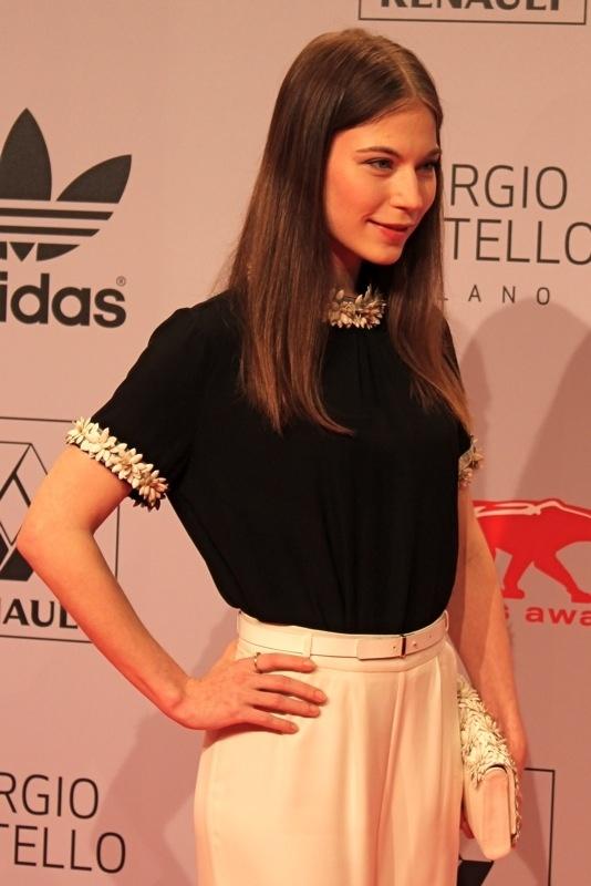 Beautiful Nora von Waldstätten in Kaviar Gauche @ new faces awards 2012