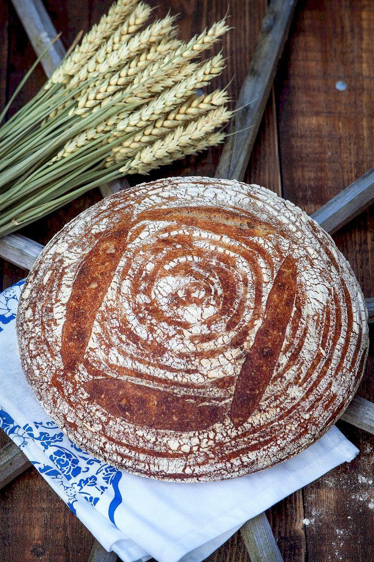 Pomysłowe Pieczenie: Pszenny chleb z Tartine na Światowy Dzień Chleba