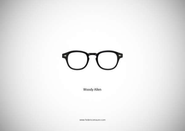 Iconic Glasses of Famous People are Showcased in This Collection trendhunter.com