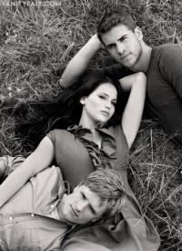 The Hunger Games Cast in Vanity Fair