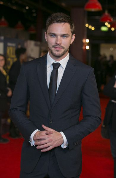 """Nicholas Hoult attends the """"Kill Your Friends"""" UK Premiere at Picturehouse Central on October 22, 2015 in London, England."""