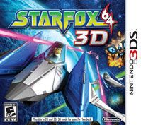 Star Fox 64 3D invites players to take on the role of legendary Fox McCloud as they lead a fearless squadron of fighters in fierce aerial combat to battle the evil forces of Andross and save the galaxy from destruction. The rich 3D visuals provide a remarkable sense of depth, distance and position as players dodge meteors and blast enemy fighters out of the sky.