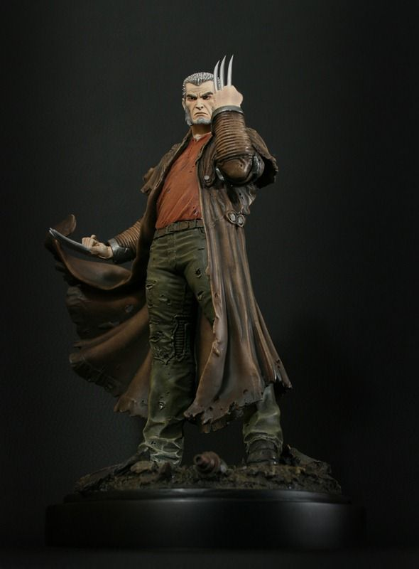 Wolverine Old Man Logan statue - Bowen Designs