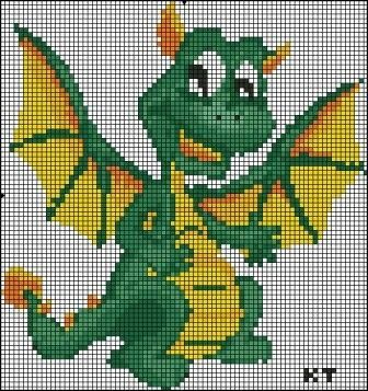 162 best images about Perler Beads Dragons on Pinterest ...
