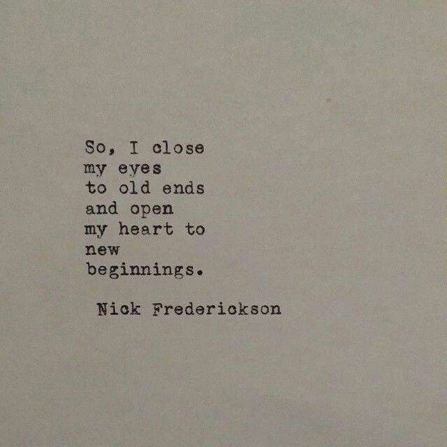.....and open my heart....