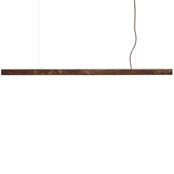 Anour Rusted Steel Strip Pendant Lamp | MQ000068467 | £895.00